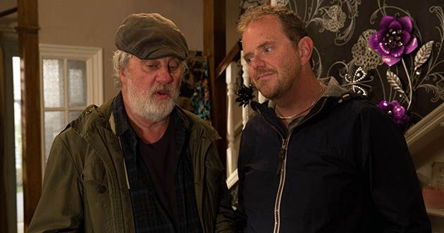 Dan Spencer asks for Zak Dingle's advice regarding Kerry Norton and Zak suggests he start taking an interest in the wedding in Emmerdale