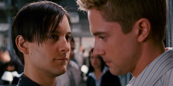 Tobey Maguire, Topher Grace - Spider-Man 3