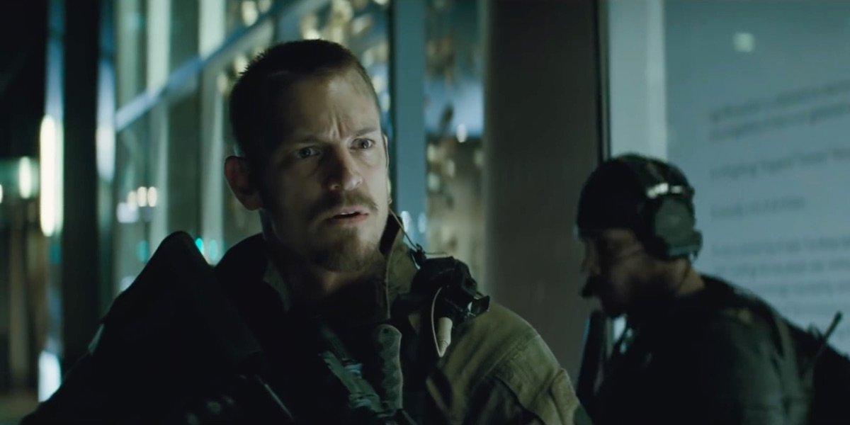 Joel Kinnaman as Rick Flag in Suicide Squad