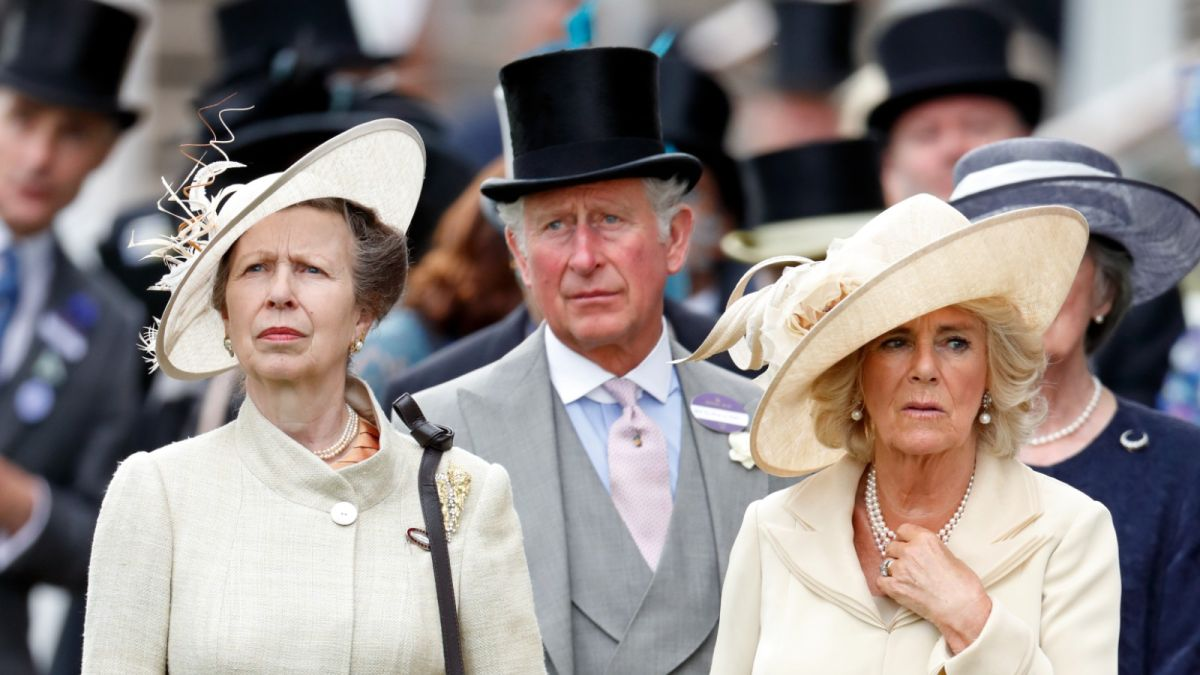 Princess Anne claims 'Camilla will never be a true queen' as they quarrel about titles