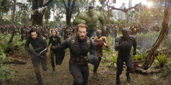 avengers infinity war running in wakanda