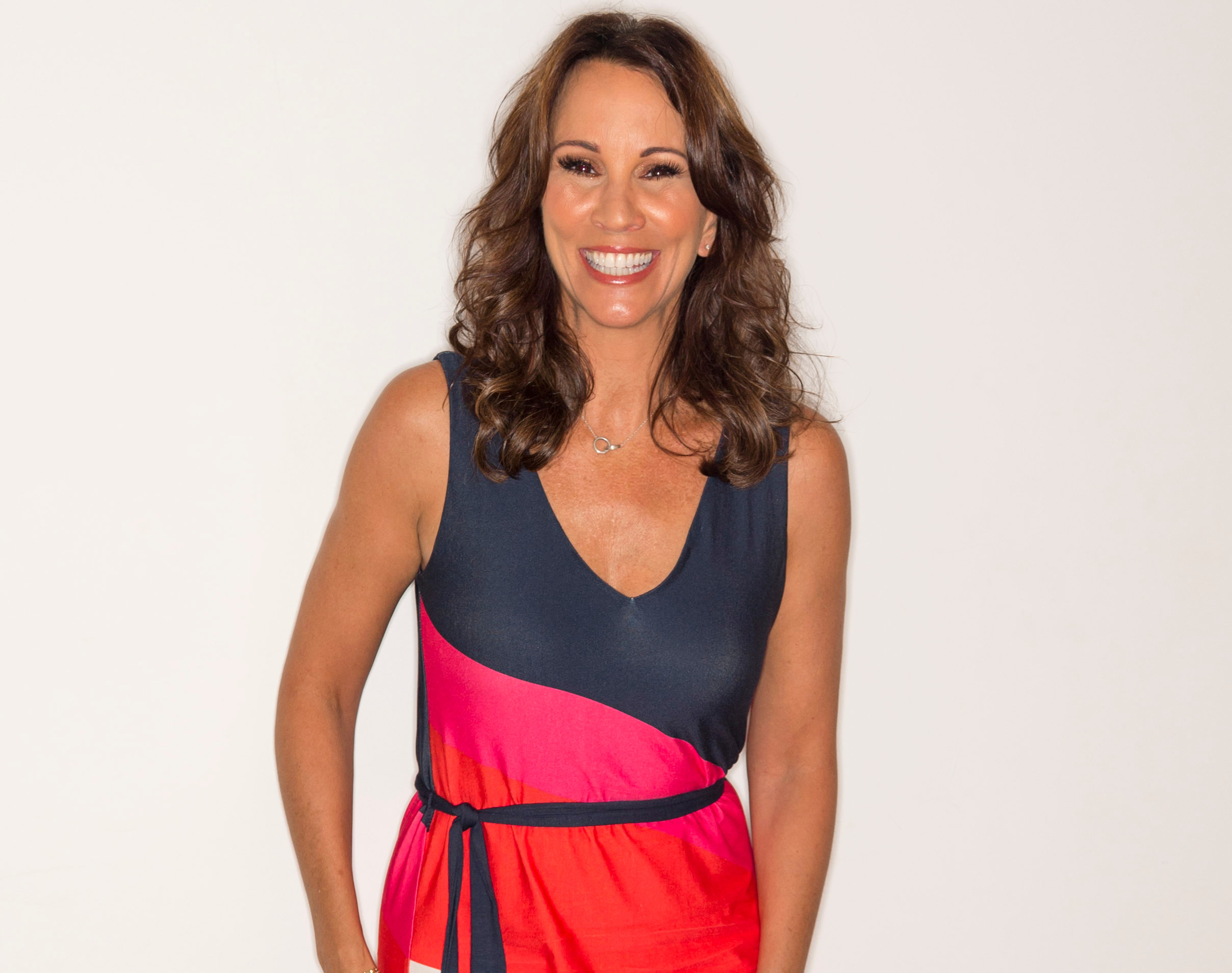 Andrea McLean's stunning summer maxi dress is just 25 from Monsoon