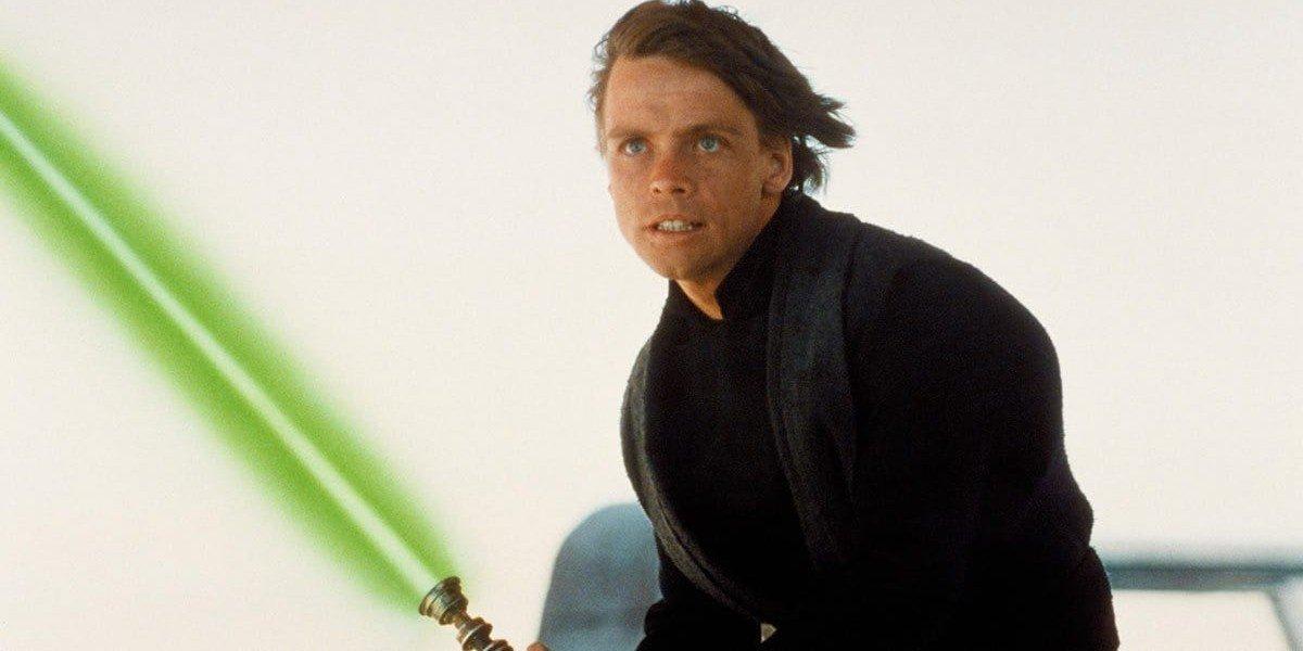 Mark Hamill as Luke Skywalker in Return of the Jedi (1983)