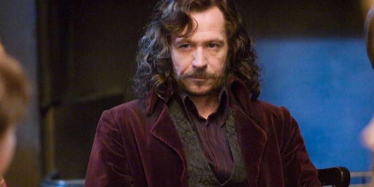 Gary Oldman as Sirius Black in Harry Potter