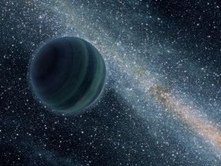 Artist's Impression of a Jupiter-Like Planet