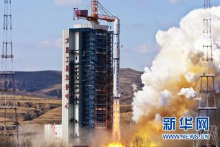 China Launches Long March Rocket, November 2011