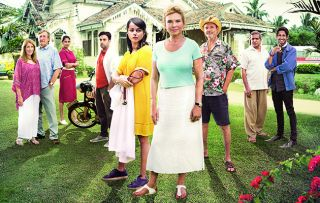 The exotic location and attractive cast stand out in this new medical drama starring Amanda Redman