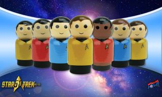 Star Trek Pin Mate Figures