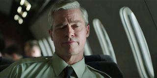 Brad Pitt in Netflix's war machine movie