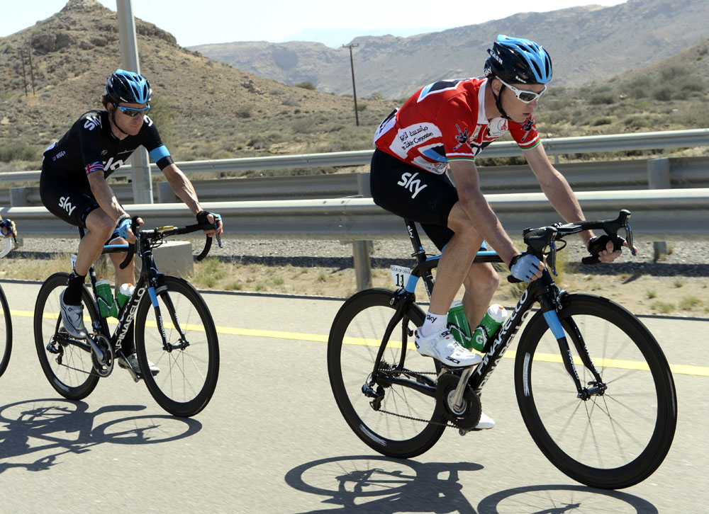 ad9505b2b Bradley Wiggins and Chris Froome settle differences - Cycling Weekly