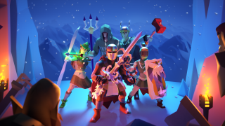 A party of runescape adventurers