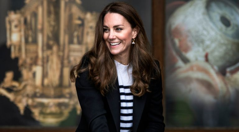 Kate Middleton, Duchess of Cambridge during a visit to the University of St Andrews on May 26, 2021 in St Andrews, Scotland.