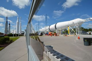 saturn ib rocket restoration