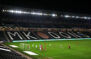 Milton Keynes Dons v Blackpool – Sky Bet League One – Stadium MK