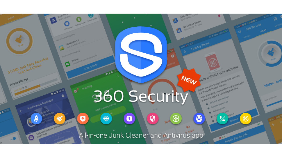 360 security free antivirus booster cleaner