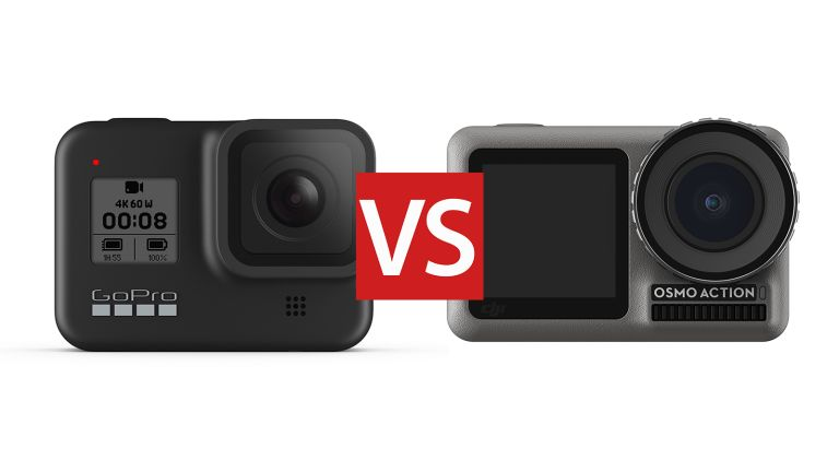 GoPro Hero 8 Black vs DJI Osmo Action: which 4K action camera should you buy?