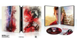 Mulan on DVD