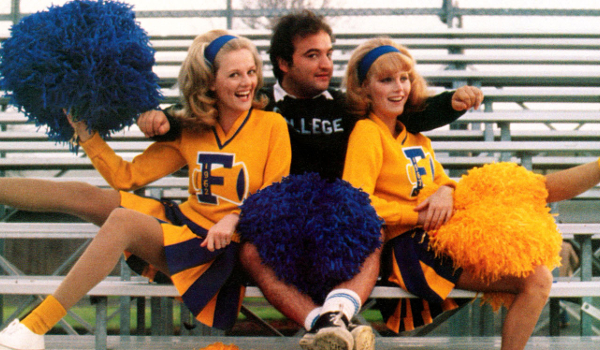 Animal House Bluto And The Cheerleaders Benched