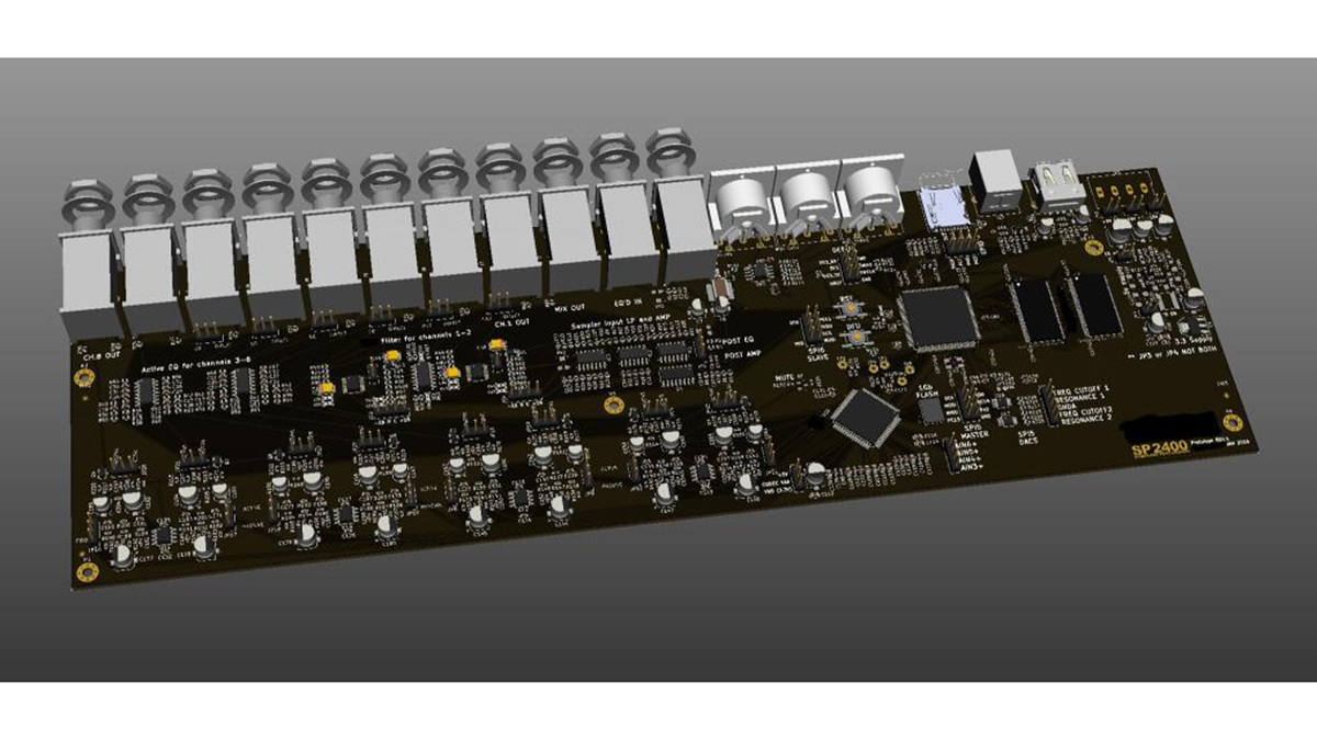 Could this be an EMU SP-1200 clone from Behringer?