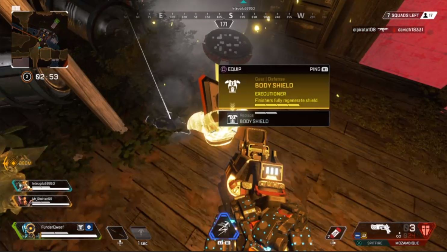 Apex Legends High Level Loot Guide Legendary Gold Items