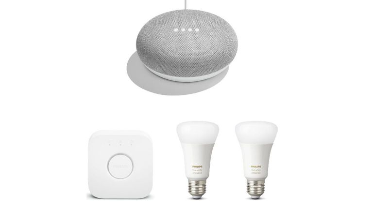 Google Home Mini and Philips Hue Black Friday deal