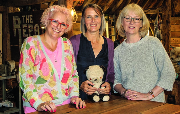 More treasured items are restored to their former glory