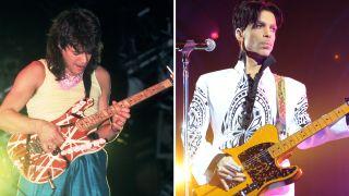 Eddie Van Halen and Prince