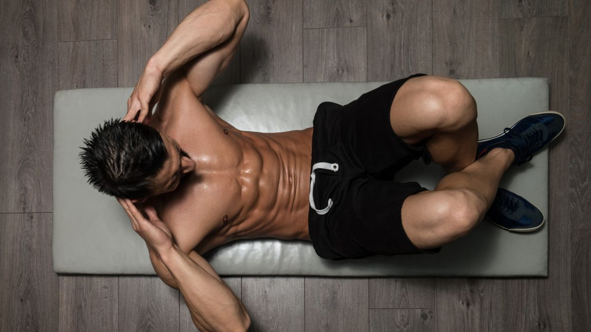 Learn how to do crunches for quick six pack gains