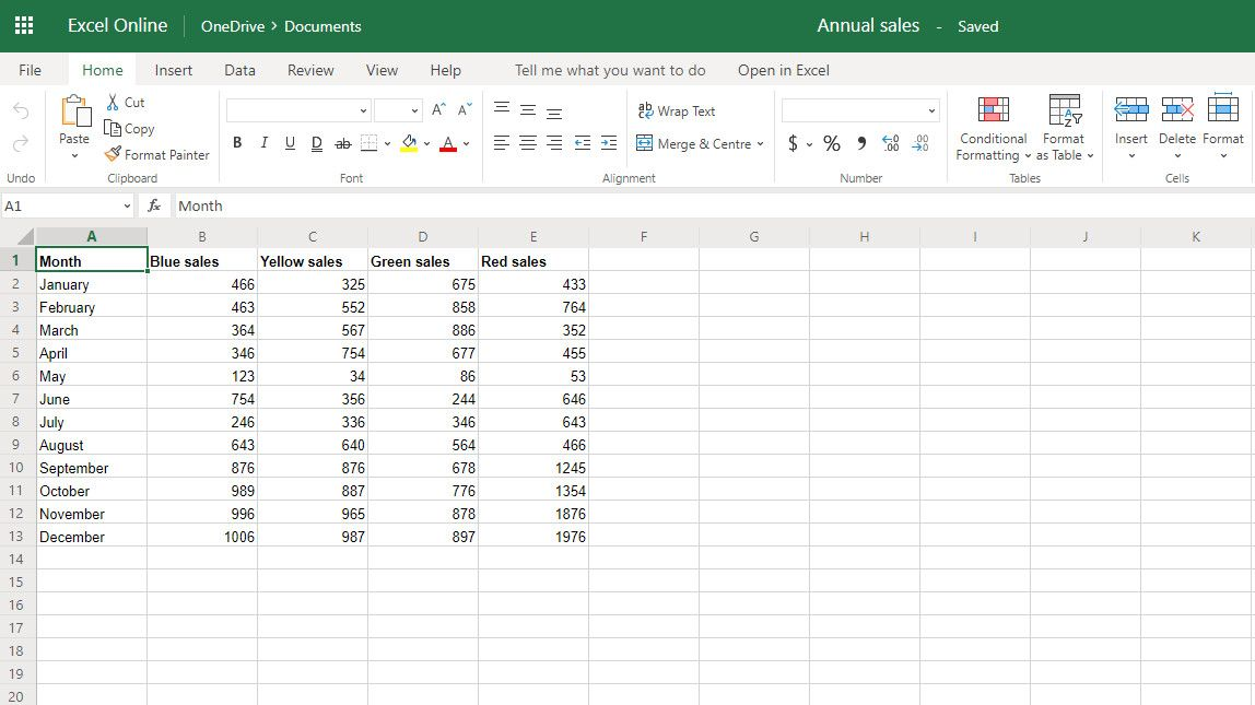 How to create a drop down list in Excel