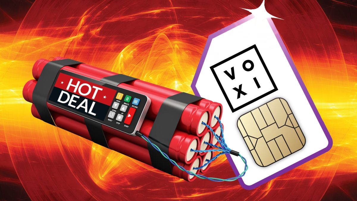 Dynamite Voxi SIM only deal delivers 12GB data and no contract for £10 p/m