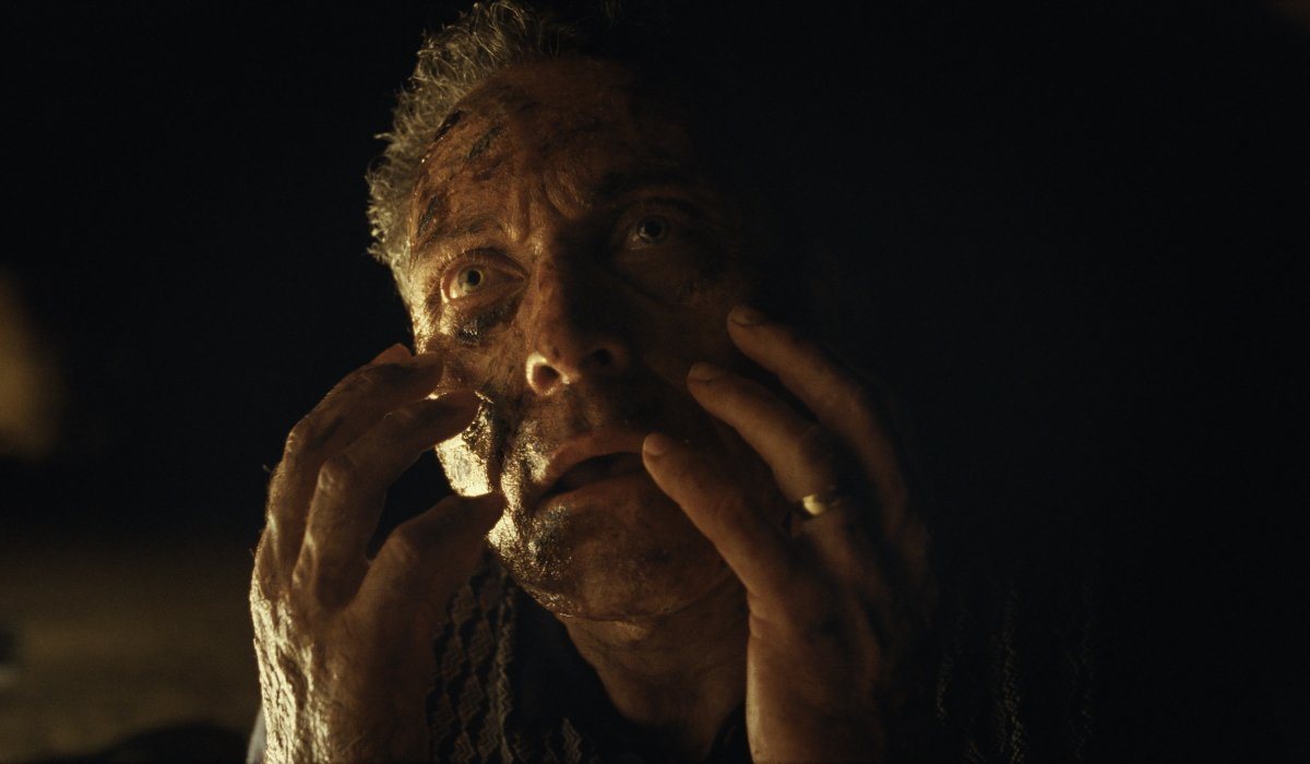 Rufus Sewell ravaged by rust poisoning in Old.