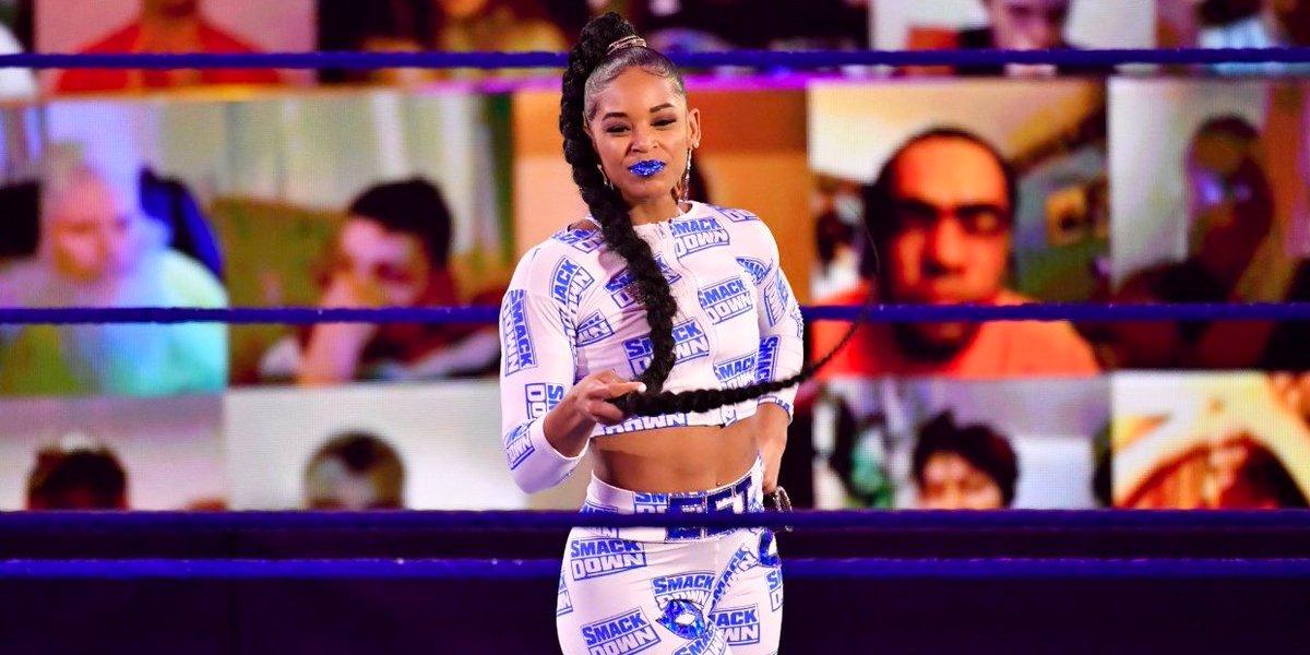 Bianca Belair on SmackDown