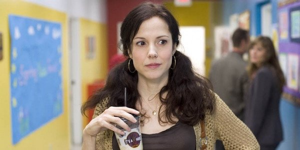 Nancy Botwin drinking coffee