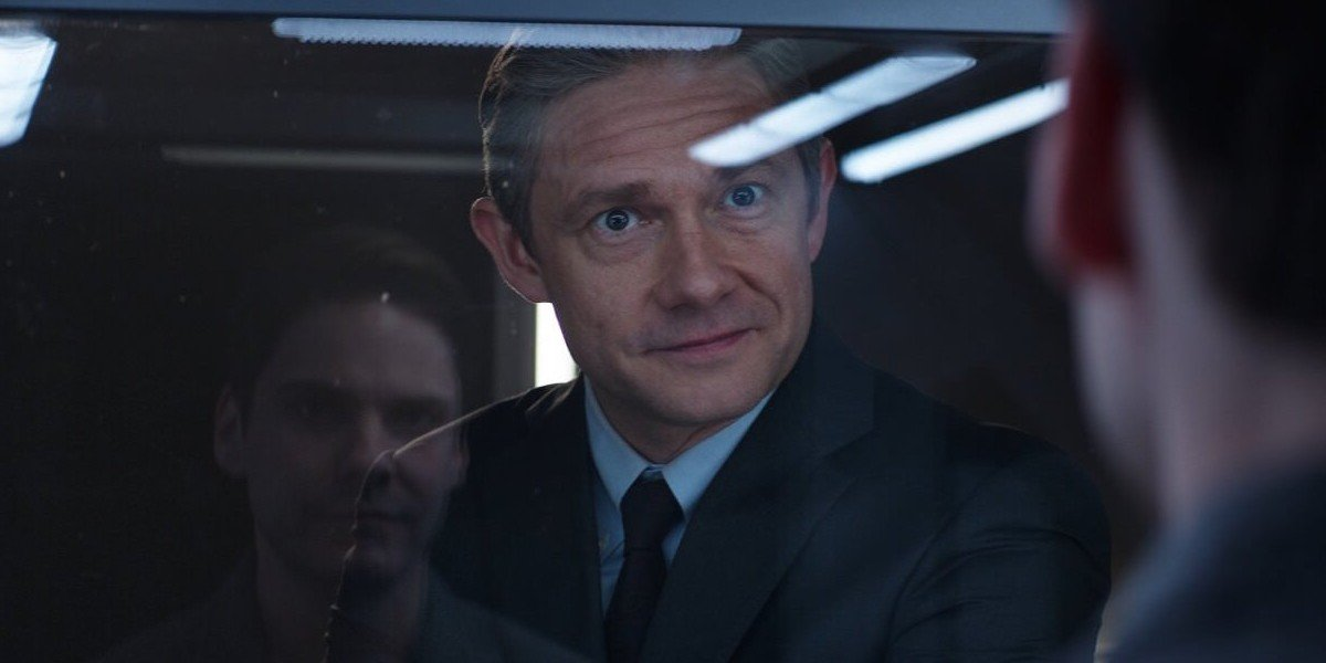 Martin Freeman as Everett Ross in Captain America: Civil War (2016)