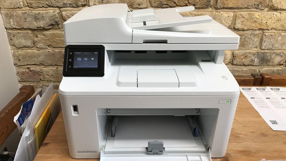 Hp Laserjet Pro Mfp M227fdw Review Techradar