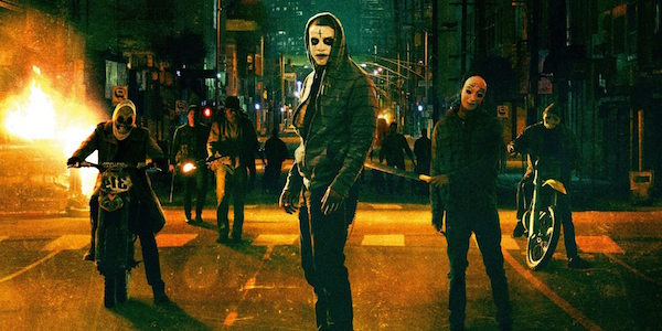 The Purge Masked Criminals In Street