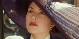 Kate Winslet in _Titanic._