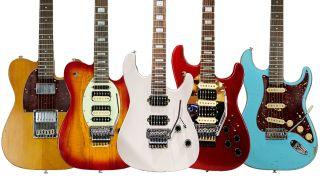 Sawtooth Guitars electric guitars