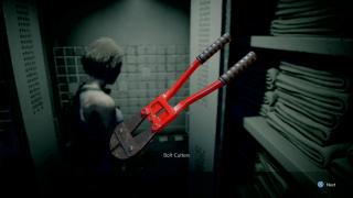 resident evil 3 bolt cutters