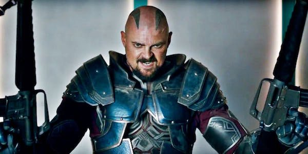 Karl Urban as Skurge in Thor: Ragnarok