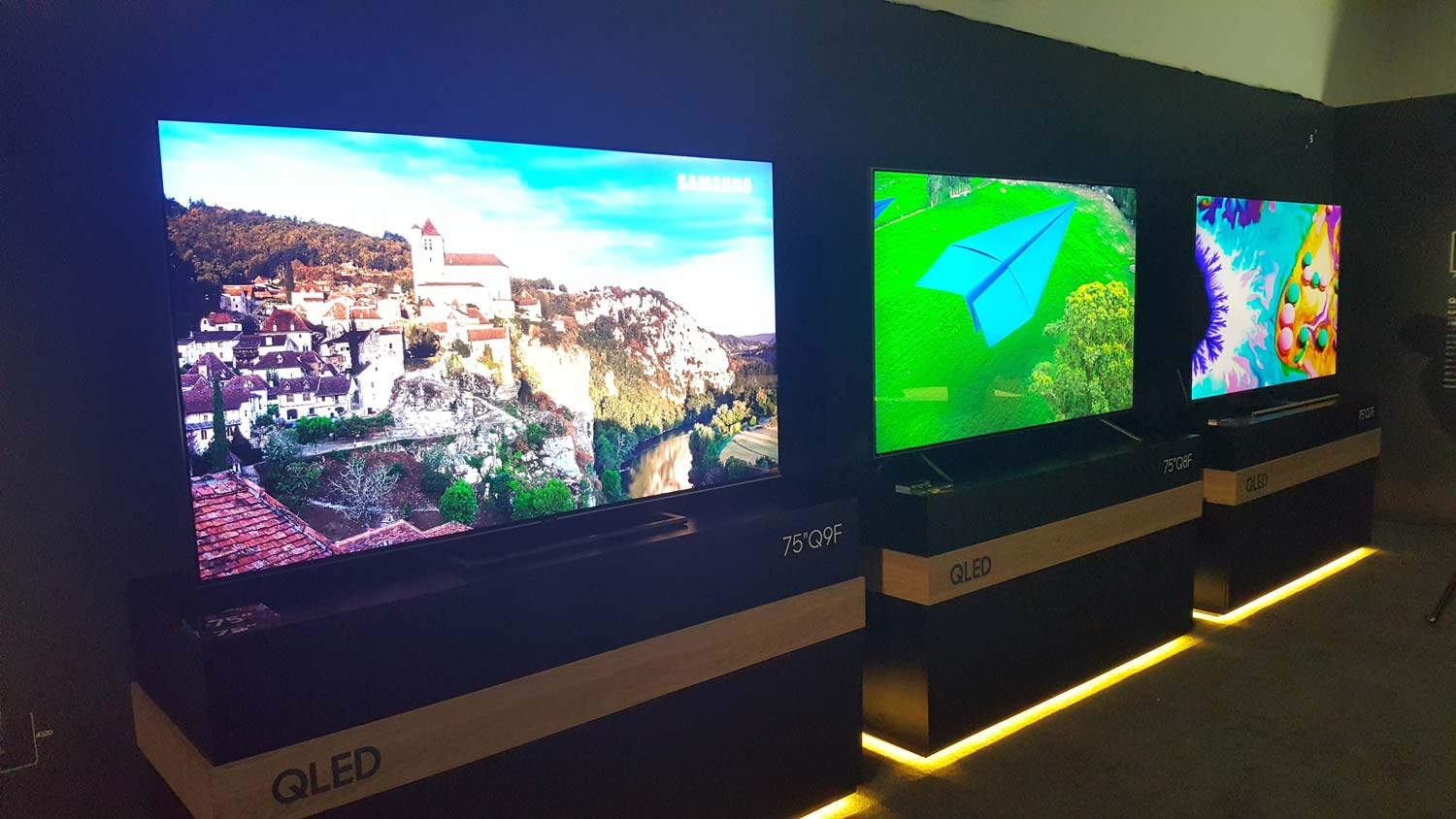 Samsung's 2018 QLED TVs Get Smarts, Sleek Designs | Tom's Guide