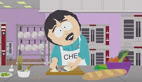 Randy Marsh cooking on South Park
