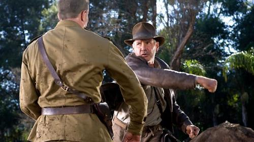 Indiana Jones and the Kingdom of the Crystal Skull - Harrison Ford's Indy dukes it out with a hulking Russian soldier