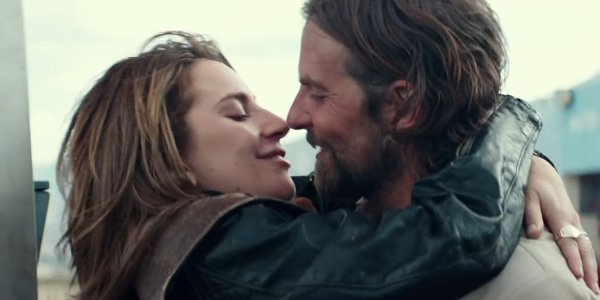 Lady Gaga and Bradley Cooper in A Star is Born