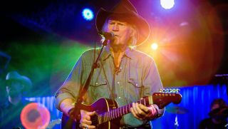 Singer/songwriter Billy Joe Shaver performs on stage at Belly Up Tavern on March 8, 2015 in Solana Beach, California