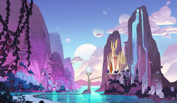 she-ra and the princesses of power netflix bright moon castle