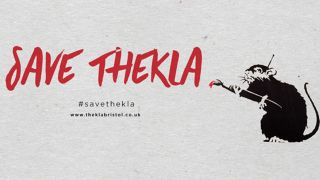 The Save Thekla logo
