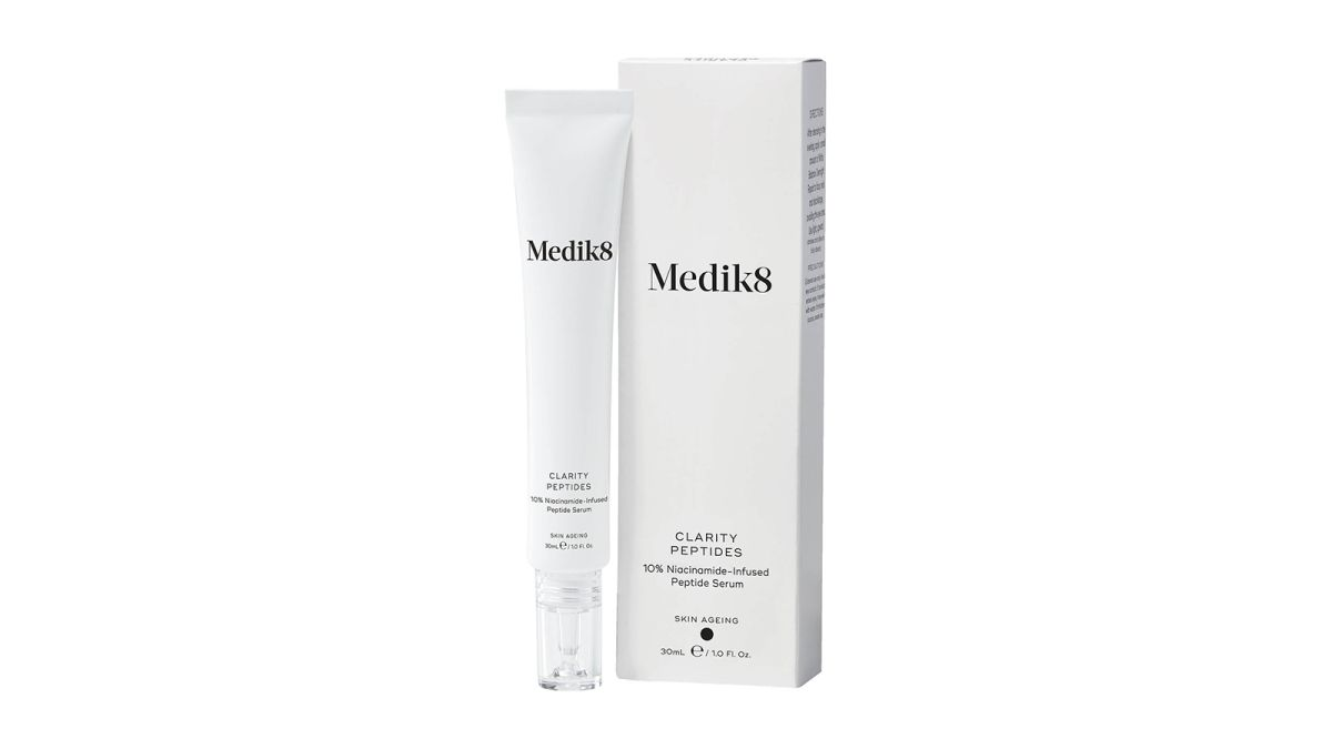 This sellout serum from sustainable brand Medik8 is finally back in stock