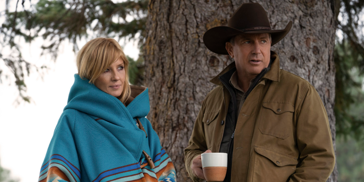 Yellowstone Beth Dutton Kelly Reilly John Dutton Kevin Costner Paramount Network