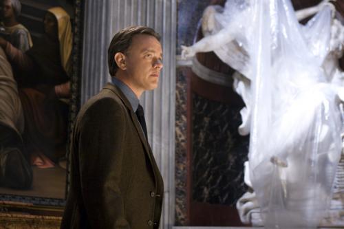 Angels & Demons - Tom Hanks' Robert Langdon hunts for clues in Santa Maria della Vittoria